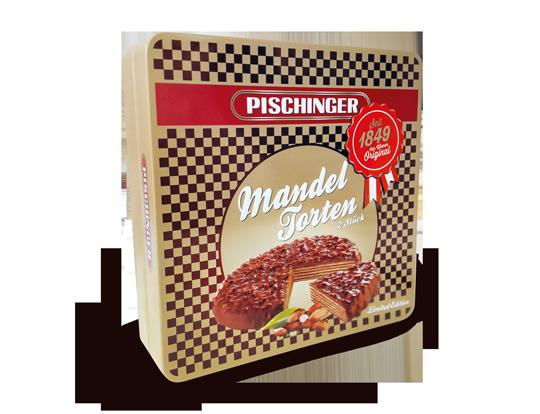 Pischinger Waffeln 170 Jahre Tradition Mandel Schokolade Vollmilch Schokolade