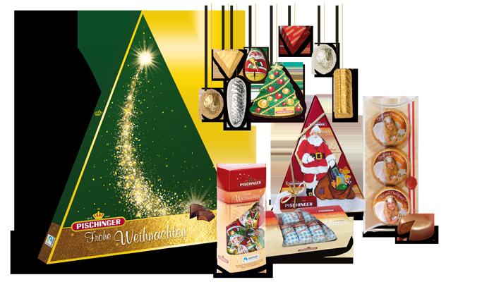 Weihnachten Pischinger Baumbehang Adventkalender